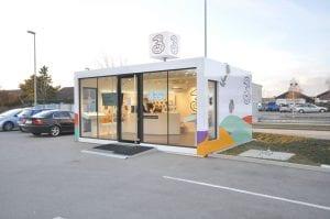 modulo negozio prefabbricato